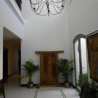 Antique Arabic Door used as display