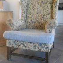 Arm Chair before recovering.