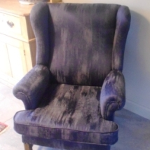 Recovered Arm Arm Chair