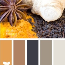 Use yellow as an accent colour to brighten a scheme. photo design-seed.com