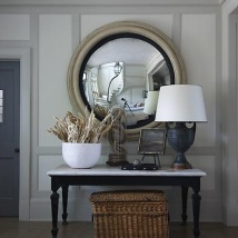 A welcoming entrance hall.