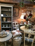 a mix of old, new and up-cycled furniture and accessories.