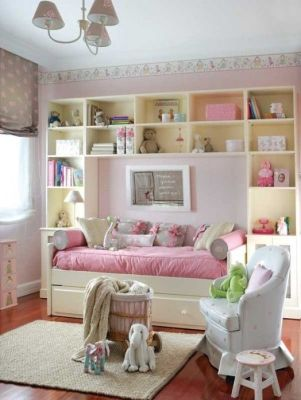 Great storage for a child's room