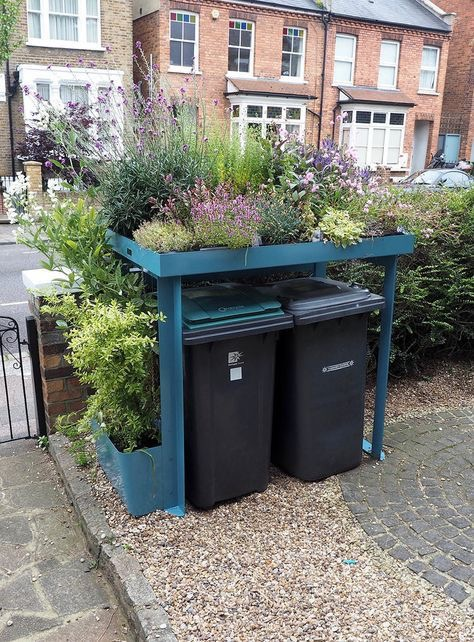Wheelie Bin Storage Idea