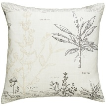 Botanical prints cushions (John Lewis)