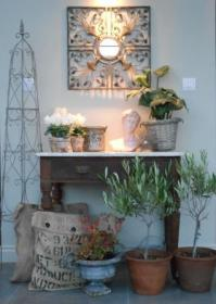 Good lighting highlights the table arrangement