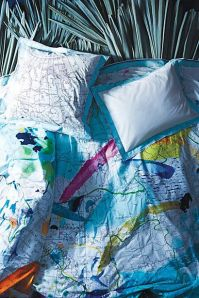 Great bedding 'Trade Winds' from Anthropologie