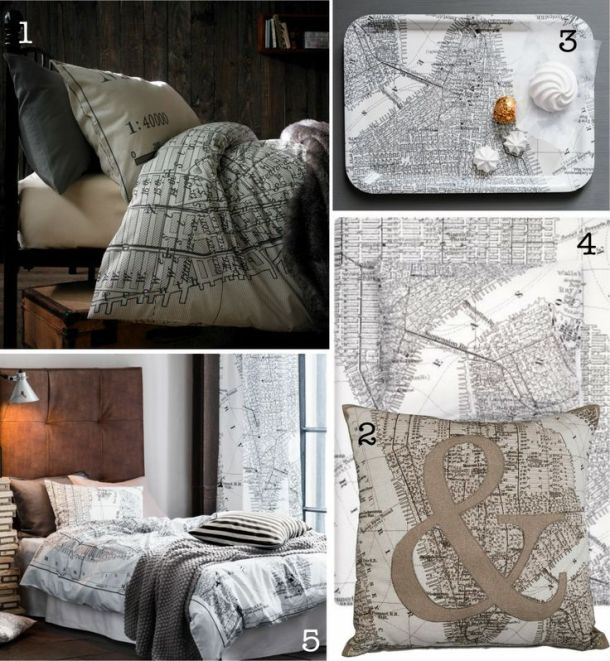 New York map trend from Asda and H&M - ellietennant.com