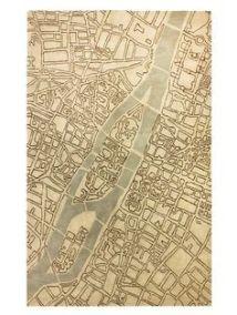City rug map design Pinterest