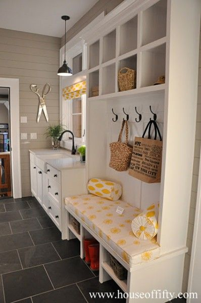 Utility and boot rooms sarah maidment interiors for Kitchen drop zone ideas