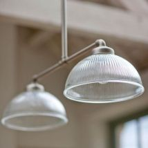 A utilitarian pendant light