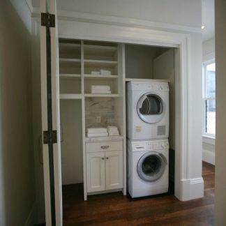 A Utility Cupboard using bi-fold doors