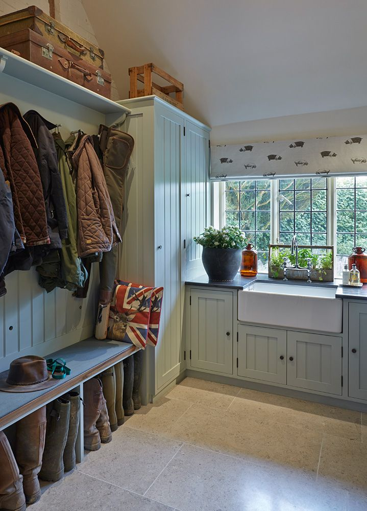 cape cod attic bathroom ideas - Utility and Boot Rooms