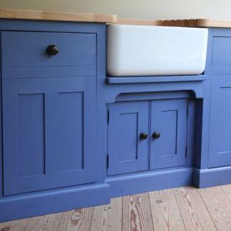 Appliances hidden by purpose built cupboards