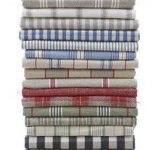 Ticking fabric from Ian Mankin