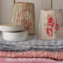 French fabrics and lampshades from Caroline Zoob