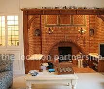 1930's Brick Mock Tudor Fireplace