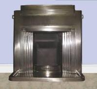1930's Art Deco Fireplace