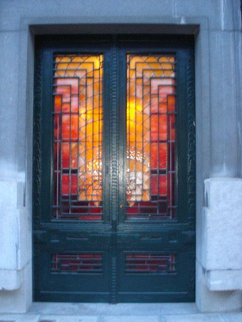 Front door leaded glass Sarah Maidment Interiors : 1930 front door glass from sminteriors.co.uk size 480 x 640 jpeg 46kB