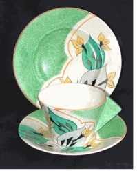 Cup and Saucer designed by Susie Cooper