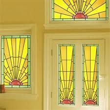 Renovation and restoration of a 1930 s house windows to for 1930s stained glass window designs
