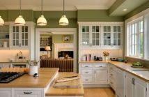 This modern kitchen takes on the style of an original.