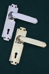 Reproduction 'Deco' style door handles