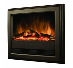 A modern electric fire can be fitted into an aperture