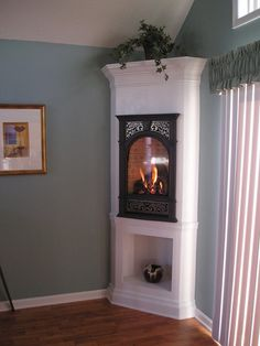 Electric corner fire