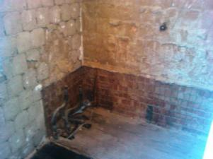 Bath and Tiles stripped out
