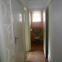 Corridor landing and loo before.
