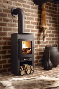 Wood burners, brick surrounds , internal brick walls,