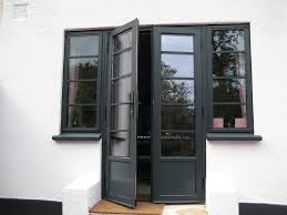 An example of RAL 7016 used in replacement doors and windows