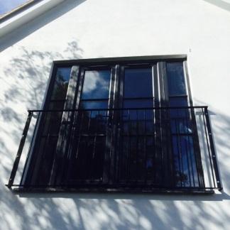 Bespoke Railings for the Juliete balcony