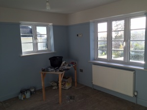 Just waiting for carpets and curtains