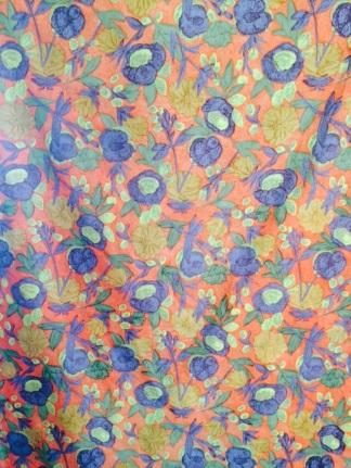 1970's Cotton Dress Fabric