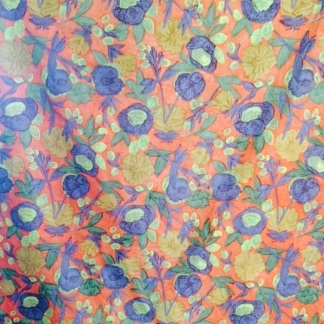 1970's Cotton Dress Fabric