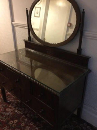 Before - Dressing Table