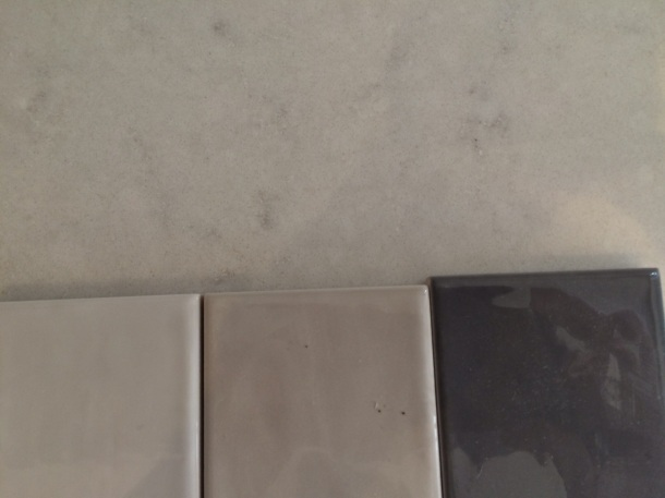 Selecting tiles for kitchen