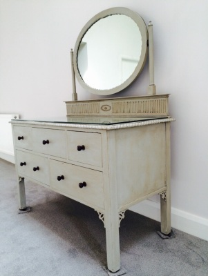 Up-cycled Edwardian Dressing Table