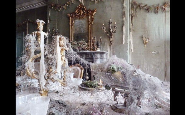It wasn't as bad as Miss Havisham's house in Great Expectations