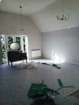 Master Bedroom, with underlay