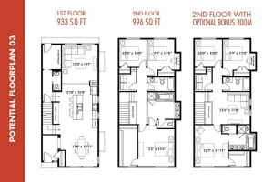 Flexible lifestyle floor layout