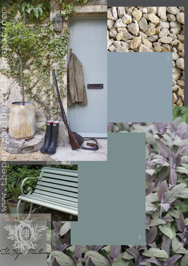 Create a mood board for your exterior