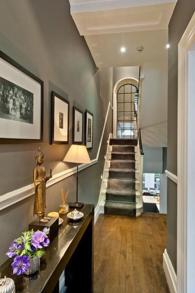 Image example of dado rail in period home