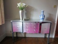 Sideboard completely gilded