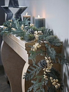 Faux Christmas garland cox and cox