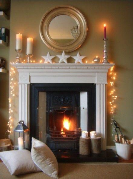 A stunning arrangement of lights candles and stars