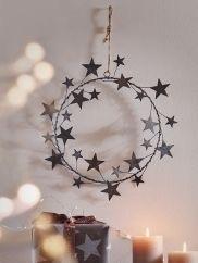 Zinc star wreath Cox and cox