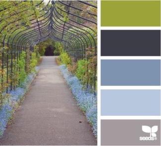 Garden inspired Moodboard